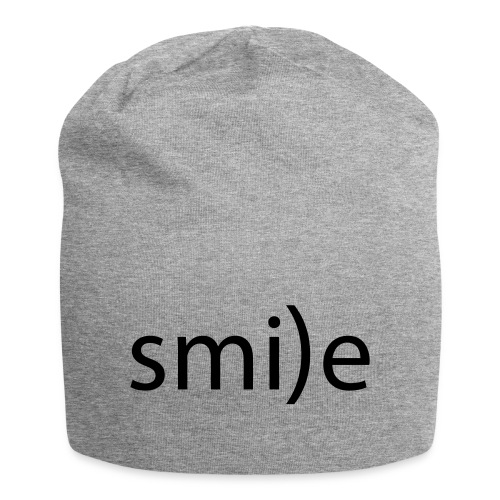smile Emoticon lächeln lachen Optimist positiv yes - Jersey Beanie