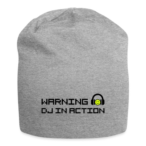 Warning DJ in Action - Jersey-Beanie