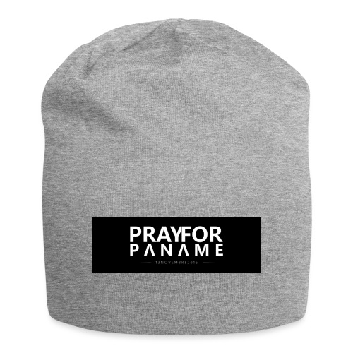 TEE-SHIRT HOMME - PRAY FOR PANAME - Bonnet en jersey