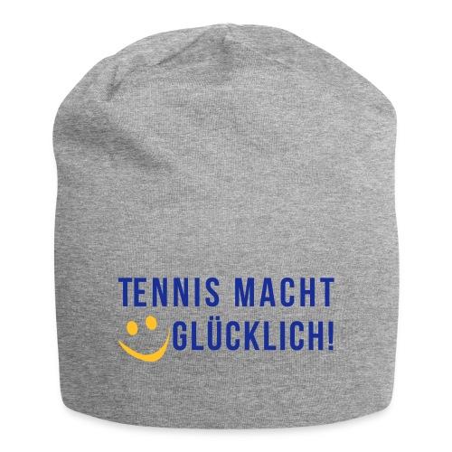 Tennis macht glücklich! - Jersey-Beanie