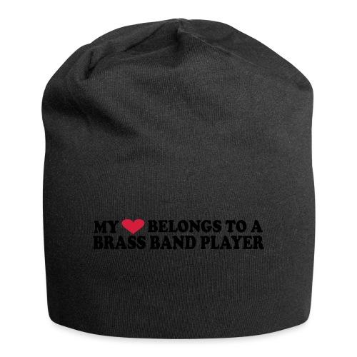 MY HEART BELONGS TO A BRASS BAND PLAYER - Jersey-beanie
