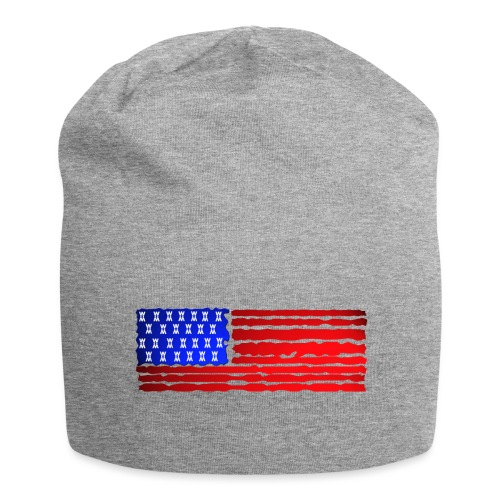 USA FLAG WATCH MATCH STYLE - Beanie in jersey