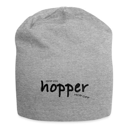MuchoHop Hop On/Off (black) - Gorro holgado de tela de jersey