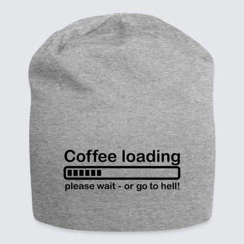 Coffee loading - Jersey-Beanie