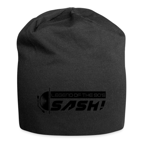 DJ SASH! Turntable 2020 Logo - Jersey Beanie