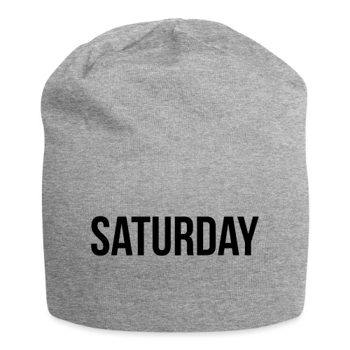 Saturday - Jersey Beanie