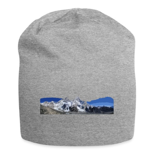MOUNTAINS - Beanie in jersey