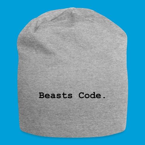 Beasts Code. - Jersey Beanie
