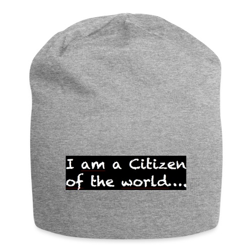 I am a citizen of the world - Jerseymössa