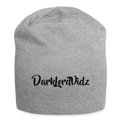 DarklordVidz Black Logo - Jersey Beanie