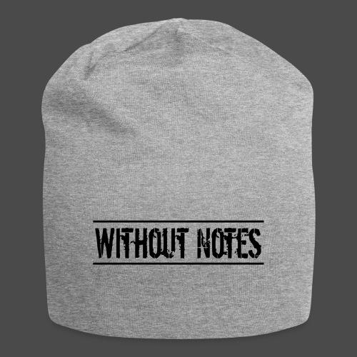 Without Notes Schriftzug Nummer 1 - Jersey-Beanie