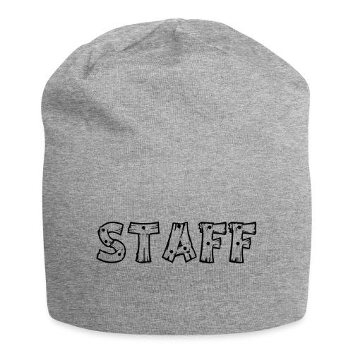 STAFF - Beanie in jersey