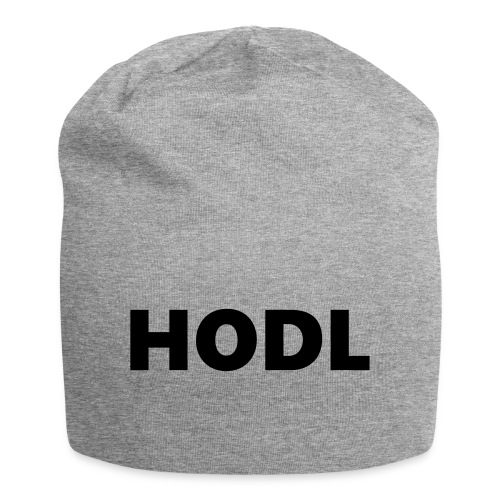 Behold of the HODL trouser! - Jersey-Beanie