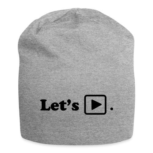 Let's play. - Bonnet en jersey