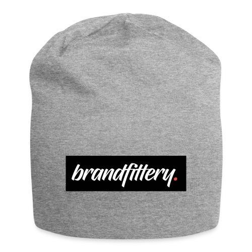 brandfittery logo test - Jersey-Beanie
