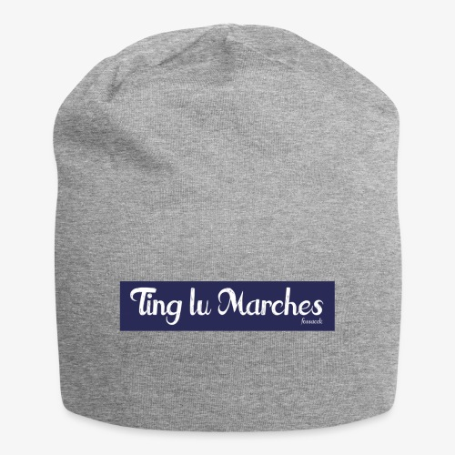 Ting lu Marches - Beanie in jersey