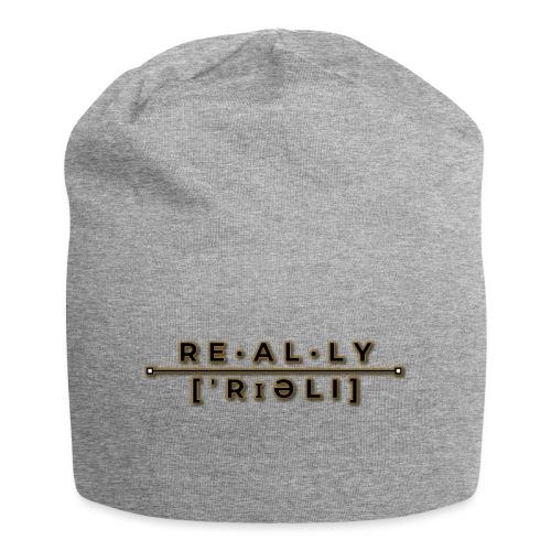 really slogan - Jersey-Beanie