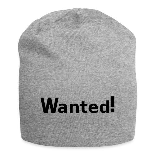 Wanted. schwarz - Jersey-Beanie