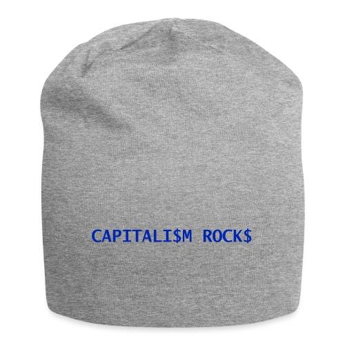 CAPITALISM ROCKS - Beanie in jersey