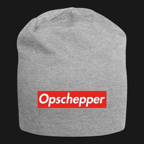 Opschepper Classic (Rood) - Jersey-Beanie