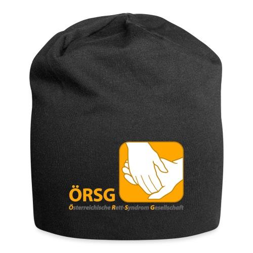 Logo der ÖRSG - Rett Syndrom Österreich - Jersey-Beanie