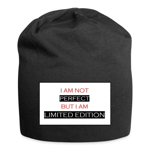 I am not perfect - but i am limited edition - Jersey-Beanie