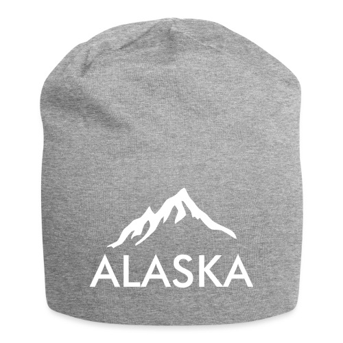 Alaska simple white - Beanie in jersey