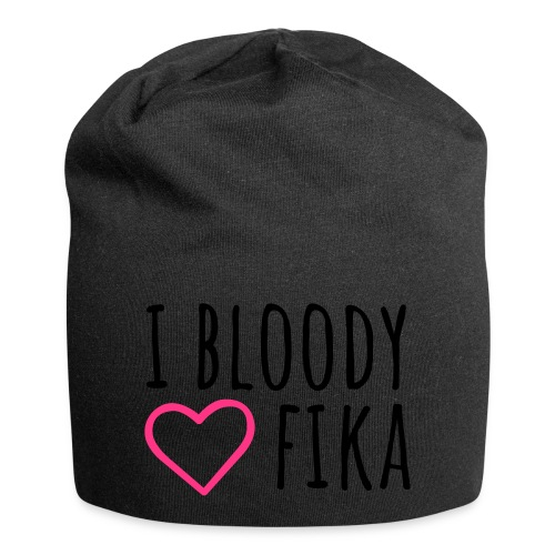 I bloody love fika - with editable colors - Jersey-pipo