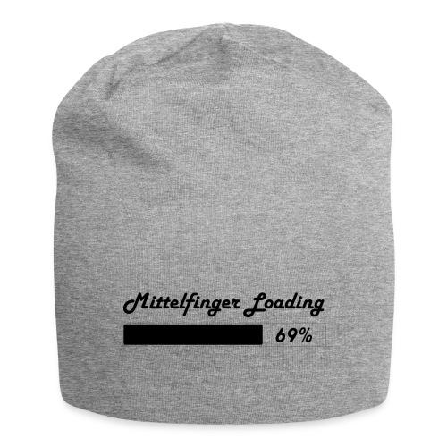Mittelfinger Loading - Jersey-Beanie