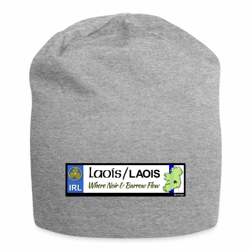 LAOIS, IRELAND: licence plate tag style decal eu - Jersey Beanie