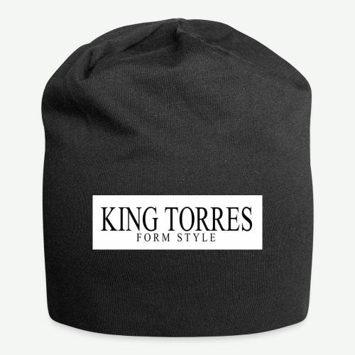 king torres - Gorro holgado de tela de jersey