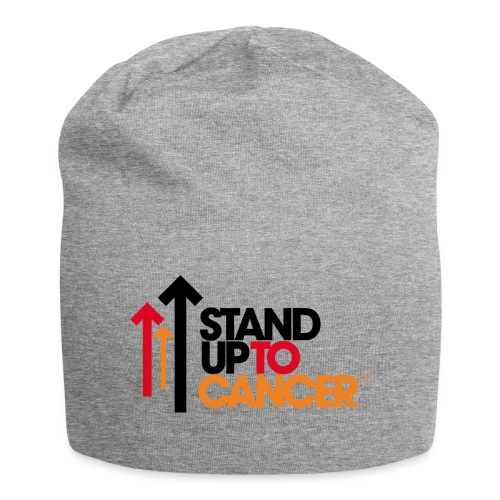 stand up to cancer logo - Jersey Beanie