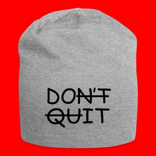 Don't Quit, Do It - Jersey-Beanie