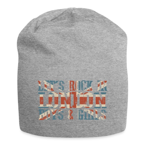 LET'S ROCK IN LONDON - Beanie in jersey