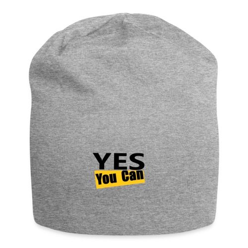 Yes you can - Bonnet en jersey