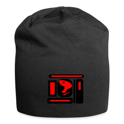 black and red hot P - Jersey-Beanie