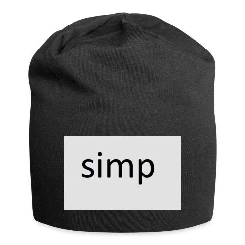 simp - Jersey-Beanie