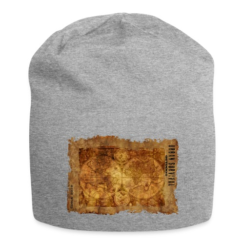 map of the world 2241469 1920 - Jersey-Beanie
