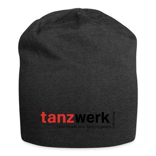 Tanzwerk - Premium Edition schwarz - Jersey-Beanie