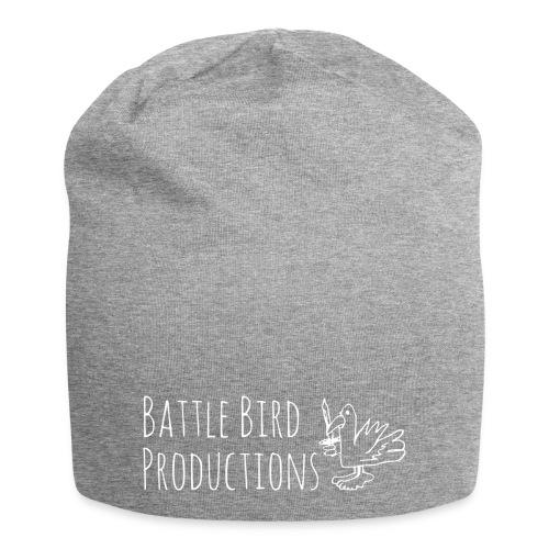 Battle Bird Logo (white) - Jersey Beanie