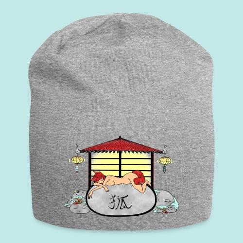 Déesse renard Inari jardin zen temple japonais - Bonnet en jersey