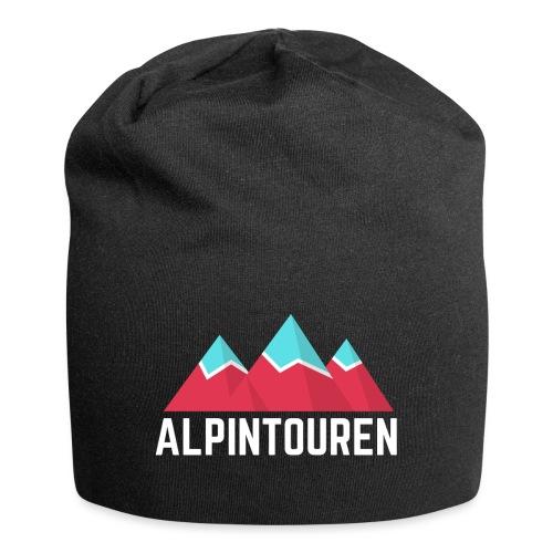 Alpintouren Logo - Jersey-Beanie