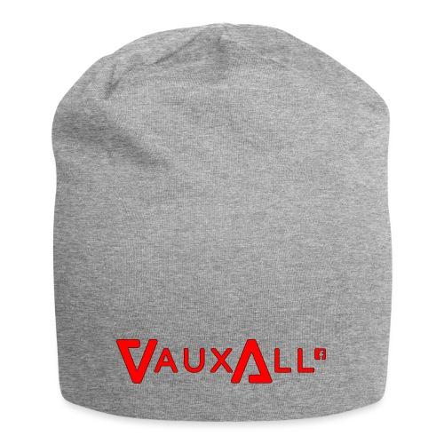 VauxAll Logo | Red | Original - Jersey Beanie