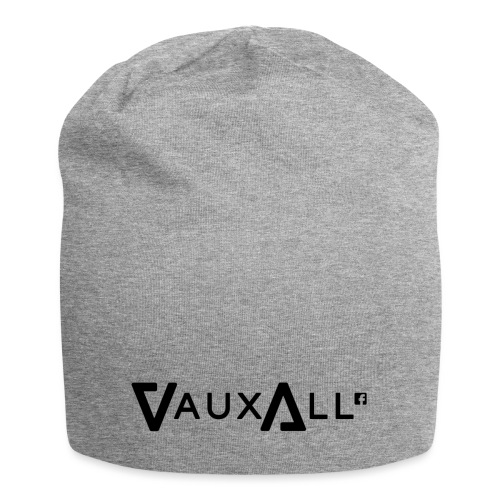 VauxAll Logo | Black | Original - Jersey Beanie