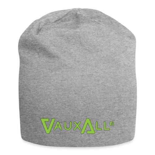 VauxAll Logo | Green | Original - Jersey Beanie