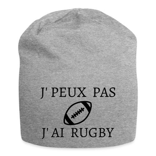 J'peux pas J'ai rugby - Bonnet en jersey