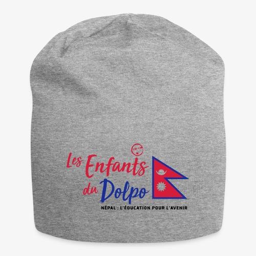 Les Enfants du Doplo - Grand Logo Centré - Bonnet en jersey