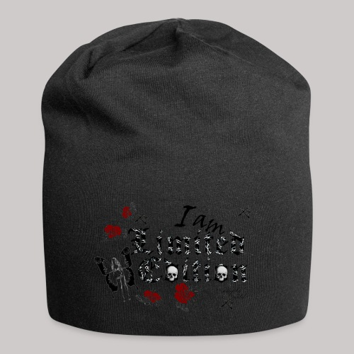 simply wild limited Edition on white - Jersey-Beanie