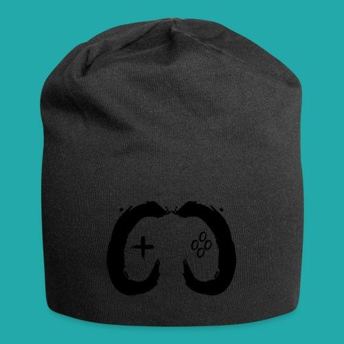 Crowd Control Controller Logo Black Large - Jersey Beanie