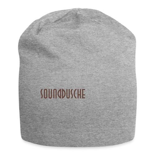 sounddusche schriftzug shirt - Jersey-Beanie